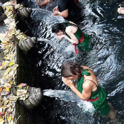 LeaderSHIFT through MINDfulness Academy in Bali - water ritual